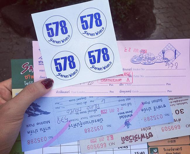Ngày thứ 4: Hành trình Safari World - Central World - Siam Paragon - MBK - Khao San