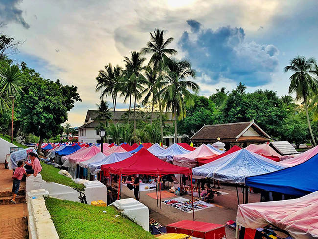 Luang Prabang cố đô của Lào